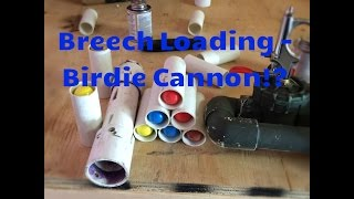 Breech Loading Potato Cannon