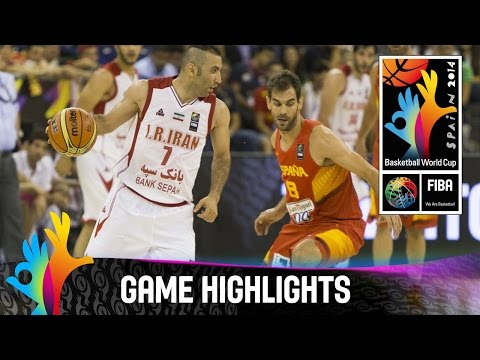 watch Iran v Spain - Game Highlights - Group A - 2014 FIBA Basketball World Cup