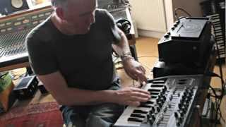 Portishead's Adrian Utley on Arturia MiniBrute Analog Synth