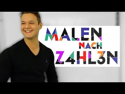 MALEN NACH ZAHLEN | Sascha der Depp