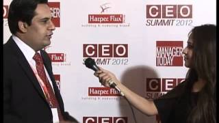 (Blue Carpet) Nisar Ch Director Operation YUM at CEO SUMMIT 2012 by Manager Today
