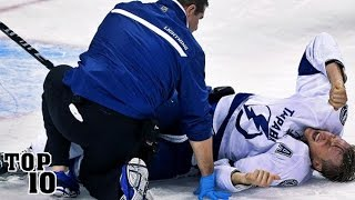 Top 10 Most Shocking Sports Injuries