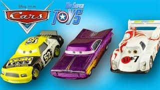 Disney Pixar Cars Diecast Shu Todoroki Ramone Claude Scruggs 4k #Jouet #Unboxing Les bagnoles