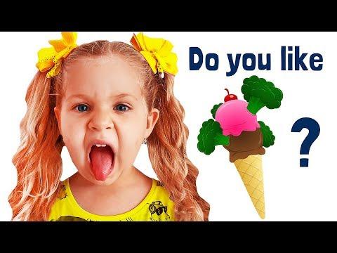 Do You Like Broccoli Ice Cream? Songs with Roma and Diana