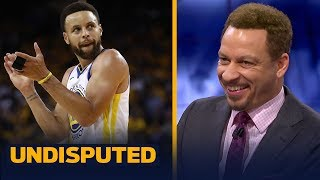 'Steph Curry put on a tremendous performance' in Warriors Game 3 loss — Broussard | NBA | UNDISPUTED