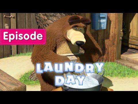 Masha and The Bear Laundry Day Episode 18