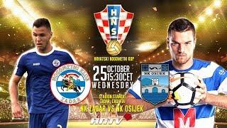 NK ZADAR vs. NK OSIJEK | Croatian football cup 1/8 finals