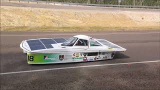 Bridgestone World Solar Challenge 2017