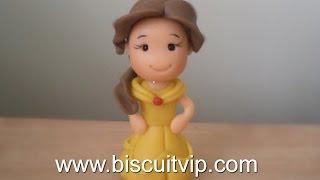 Baby Princesas Disney - Bela - Canal Aula de Biscuit