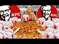 My Girlfriend Ate The Entire KFC Menu In 10 Minutes