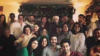 KAPOOR FAMILY LUNCH ON CHRISTMAS AT SHASHI KAPOOR HOUSE