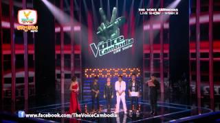 The Voice Cambodia - Live Show 3 - ទ្រូងប្រាំហត្ថគឺបង - សយ រតនះ