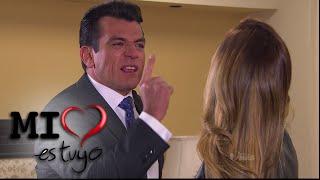 Mi Corazón es Tuyo | Fernando le reclama a Isabela por maltratar a Sebastián