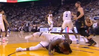 Draymond Green & Jae Crowder MMA on the court, Kevin Durant almost thrown out   Warriors vs Cavs