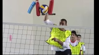 درس مبتكر لتعليم الكرة الطائرة - تربية رياضية