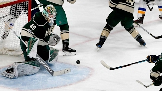 Blues edge Wild in OT to take series in Game 5