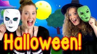 Halloween Peek a Boo Party - Kids Halloween Song