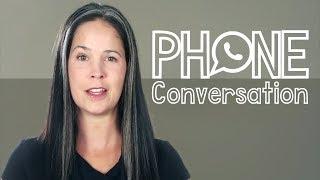 ENGLISH PHONE CONVERSATION