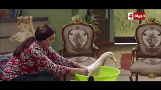 ربع رومي | مشهد مؤثر: دش ساخن لـ بيومي فؤاد وهو دكر بط!