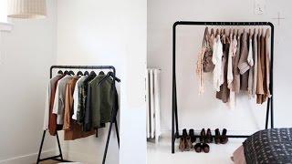 طريقة صنع رف خزانة للملابس، اكتشف ماهي المواد المستعملة