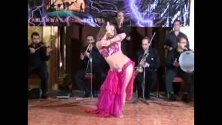 RUSSIAN BELLY DANCER Anastasia Biserova Анастасия Бисерова