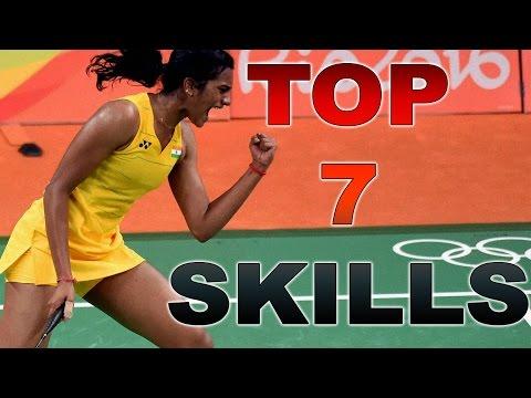 TOP 7  SKILLS | P.V. Sindhu 2016 [HD]