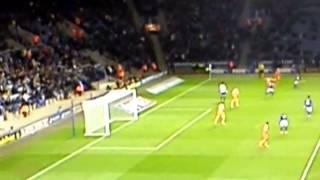 Goalkeeper slip!