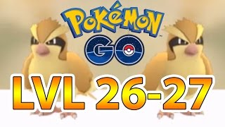 Pokemon GO | Pidgey Power | XP Boost lvl 26-27