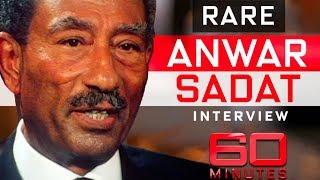 Egypt President Anwar Sadat's only ever interview with Australian journalist   60 Minutes Australia