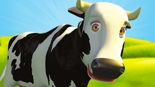 Mrs Cow - The Farm Song for Kids, Children