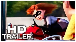 Incredibles 2 Trailer 2 Extended (2018) Superhero Movie HD