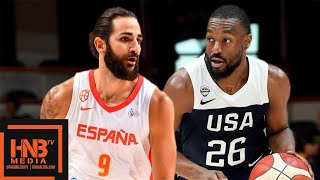 USA vs Spain - Full Game Highlights | August 16 | USA Basketball 2019