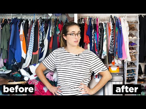 Xxx Mp4 I Gave My Friend S Messy Closet A Makeover 3gp Sex
