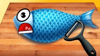 Fun Cooking Sushi Kids Games - Funny Play Kitchen And Make Yummy Food With TO-FU Oh!SUSHI