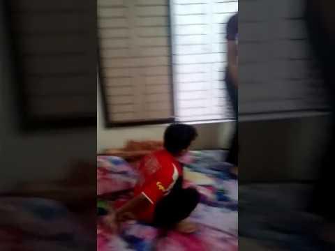 Six Yers old boy vs 14 years old boy