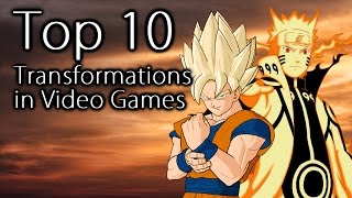 Top 10 Transformations in Video Games