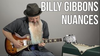 Blues Rock Lead Guitar Nuances of Billy Gibbons From ZZ Top