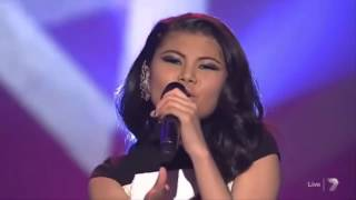 Marlisa Sings WINNER SINGLE Stand By You - The X Factor Australia 2014 Grand Finale