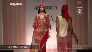 Ashima - Leena - FDCI Presents Amazon India Fashion Week AW'15