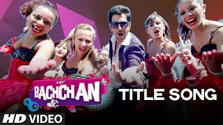BACHCHAN : Title Video Song | Benny Dayal | Jeet, Aindrita Ray, Payal Sarkar | Bengali Movie 2014