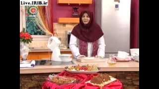 23 12 2012 cake baghlava خانم جمشيديان كيك باقلوا