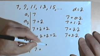 Finding the nth Term of an Arithmetic Sequence 127-1.3