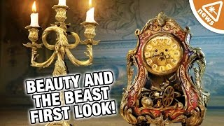 First Look at Beauty and the Beast Live Action Characters! (Nerdist News w/ Jessica Chobot)