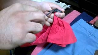 باز کردن آلارم لباس کمتر از 10 ثانیه