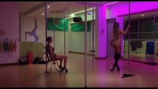 "Lap Dance + Strip Tease full choreography on Nine Inch Nails ""Closer"""