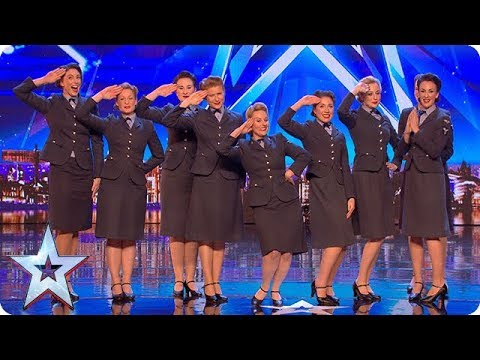Xxx Mp4 Wartime Choir The D Day Darlings DAZZLE The Judges Auditions BGT 2018 3gp Sex