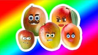 Mango Finger Family Song Nursery Rhymes for Kids | Videos for Kids