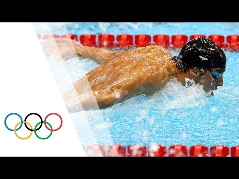 Xxx Mp4 Michael Phelps Wins 15th Gold Men S 100m Butterfly London 2012 Olympic Games 3gp Sex