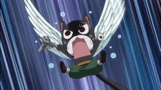 Fairy Tail - Panther Lily's fear of thunder