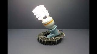 Free Energy Light Bulbs - 220v Using Magnet _ New ideas 100%